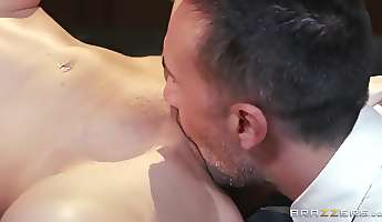 Big Tits at School Paying Back the Pervert Tiffany Tyler Keiran Lee